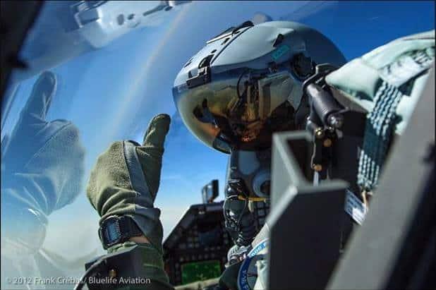 f16 piloot worden