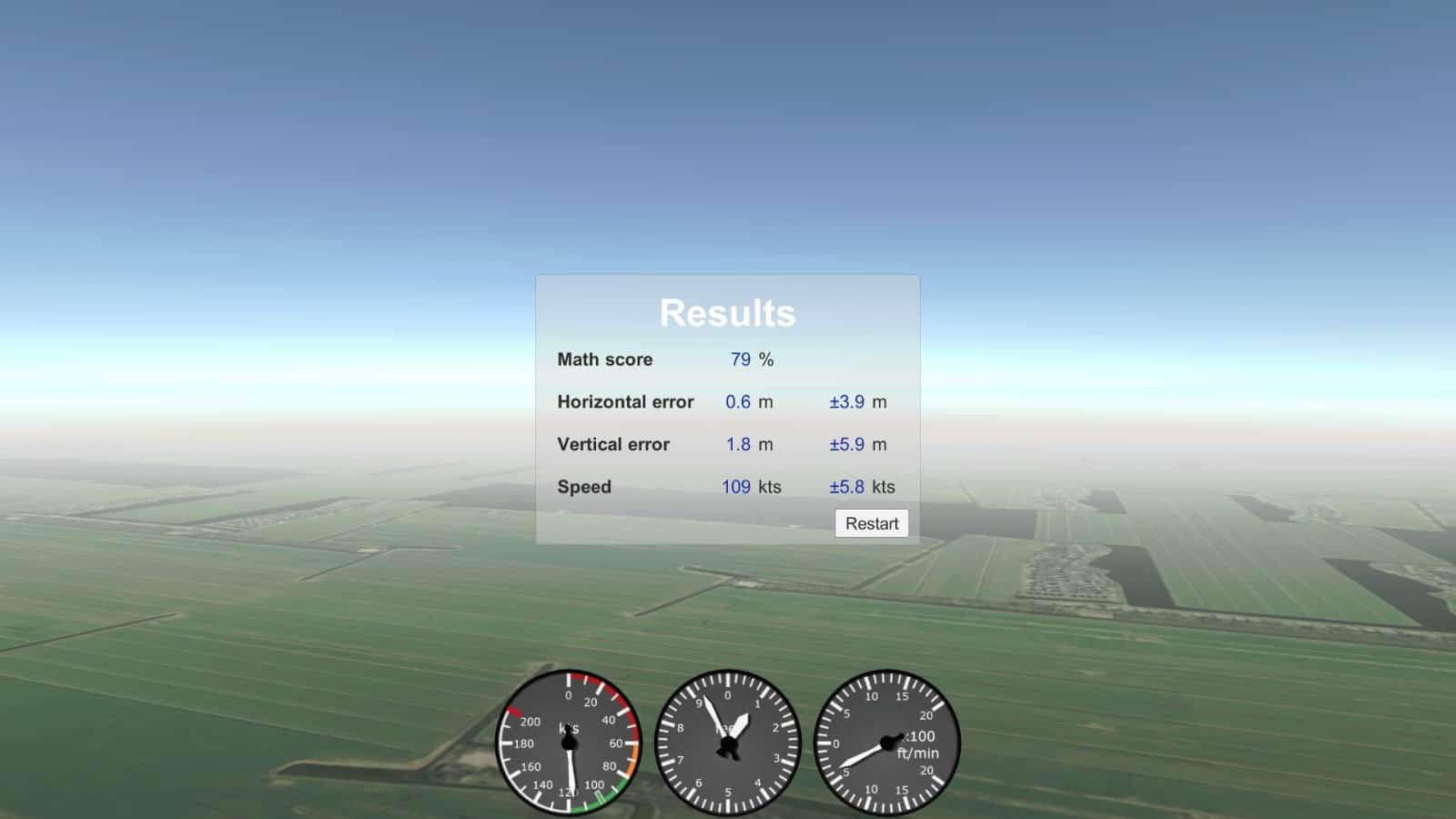 Sensomotorische testen KLM Flight Academy